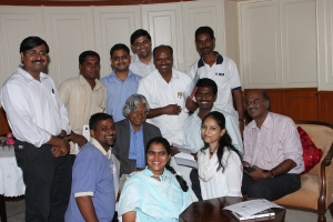 YHM and other NGO members meeting with Dr.Kalam