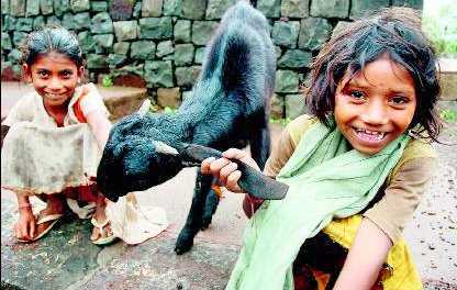 Asha - a responsible kid